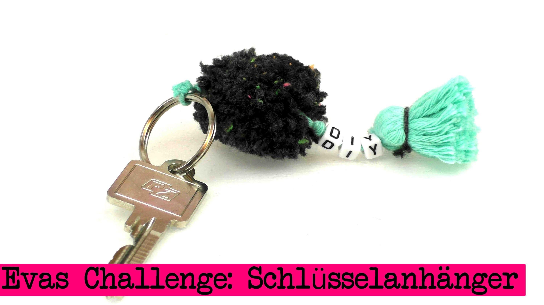 DIY Inspiration Challenge #16 Schlüsselanhänger | Evas Challenge | Tutorial - Do it yourself