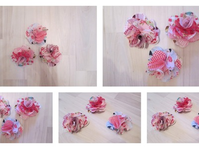 DIY: Stoffblumen | by Isi-Made ♥