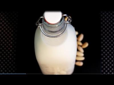 DIY: MANDELMILCH selber machen | vegan und lactosefrei