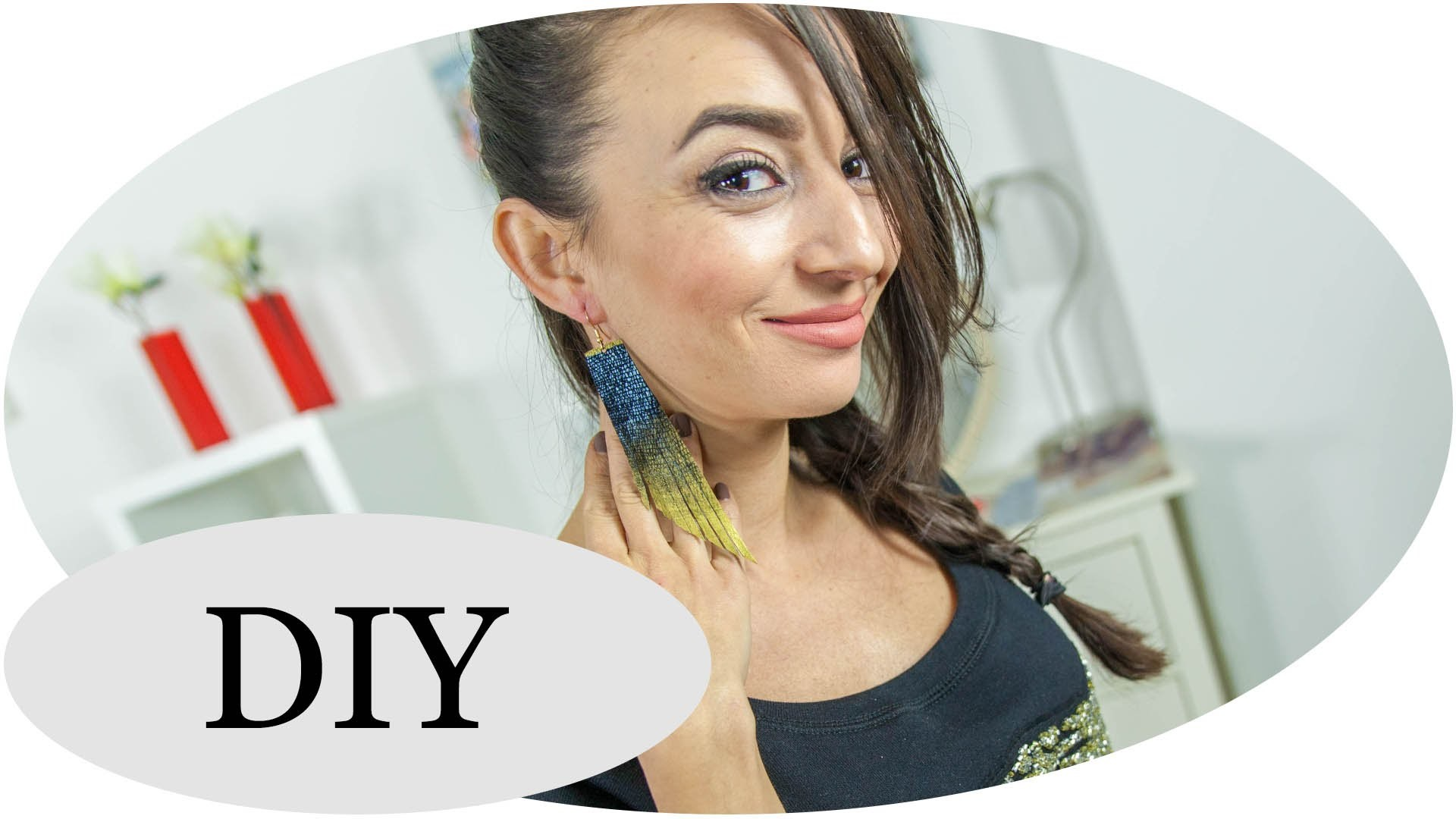 DIY: Ohrringe im angesagten Fransen-Look