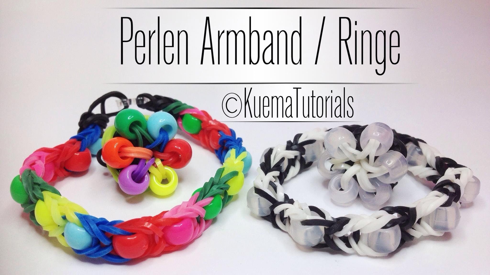 Rainbow Loom Perlenarmband - Perlenring | German Tutorial