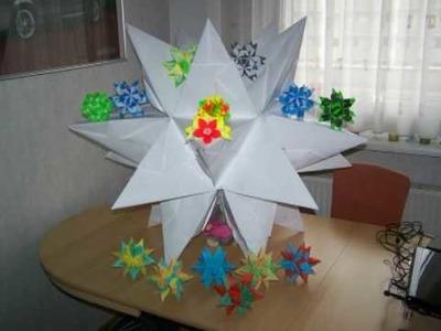 origami origami blumen falten diy blumen basteln mit. Black Bedroom Furniture Sets. Home Design Ideas