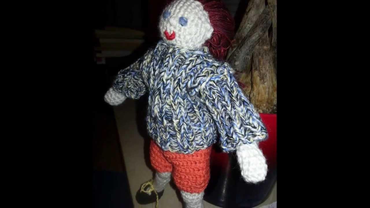 Puppe häkeln - HaekelnundStricken