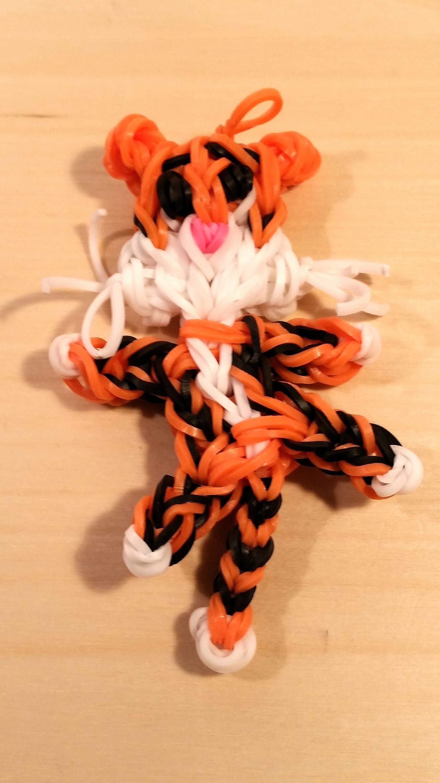 Loom Tiger 3D Anleitung Deutsch