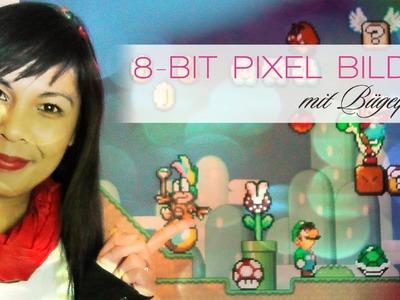 DIY: 8-bit Pixel Bilder mit Bügelperlen