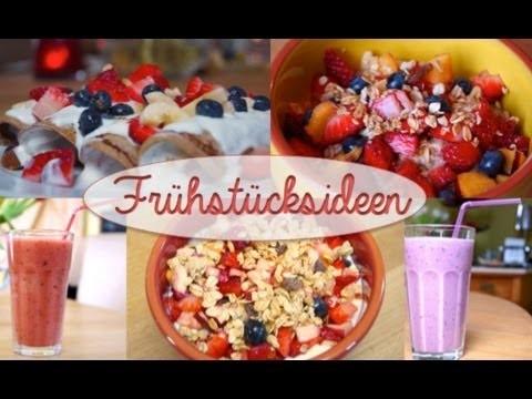 FRÜHSTÜCKSIDEEN DIY✿ |Porridge, Healthy Pancakes, Smoothies & Müsli