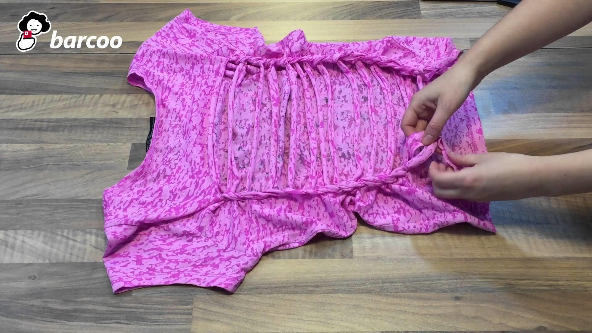 Tolles rückenfreies Sommer-Shirt selber machen