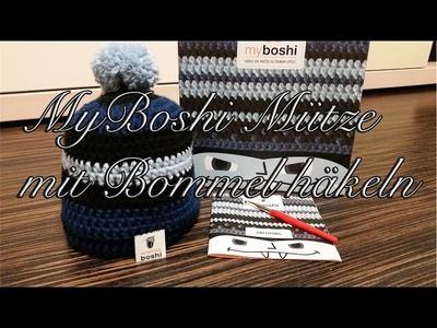 MyBoshi Mütze mit Bommel häkeln