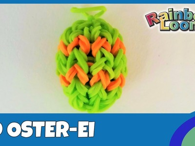 Rainbow Loom 3D Oster-Ei - deutsche Anleitung
