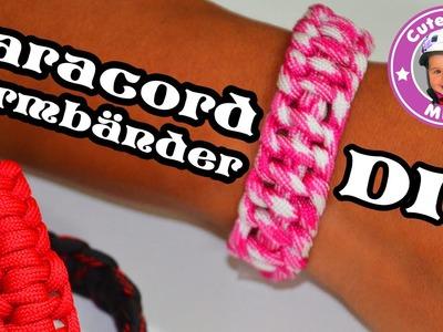 Paracord Armband selber machen DIY Anleitung tutorial - Kinderkanal