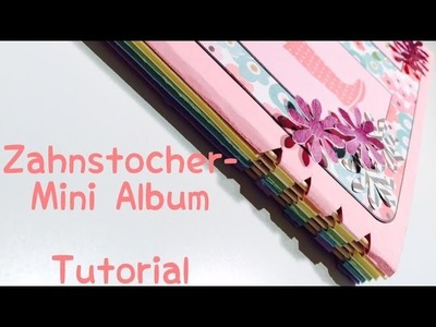 Scrapbook---Zahnstocher Mini Album^^---KoOp Craft---DIY---[tutorial | deutsch]
