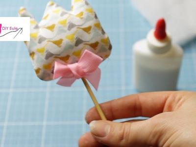 DIY Eule: Tulpe am Stiel nähen