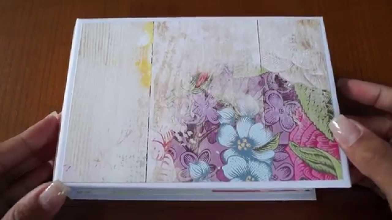 Dream in Color (Websters Page) Scrapbook Mini Album