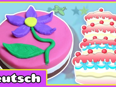 Knete Geburtstagskuchen | Play-Doh Birthday Cake | Play-Doh Creations By Hooplakidz Deutsch