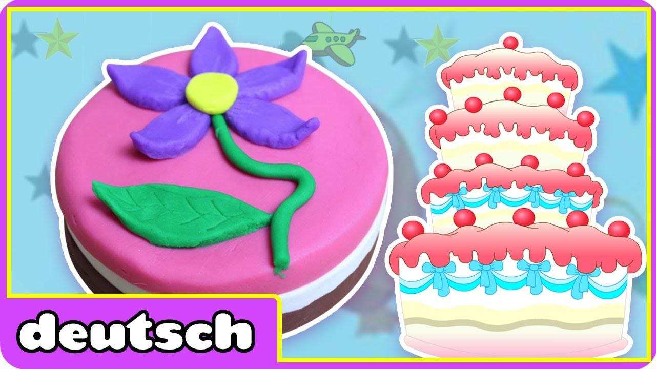 Knete Geburtstagskuchen | Play-Doh Birthday Cake | Play-Doh Creations By Hooplakidz Deutsch