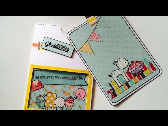 Scrapbook DIY ---ErzählKarte. AusziehKarte---[tutorial | deutsch]