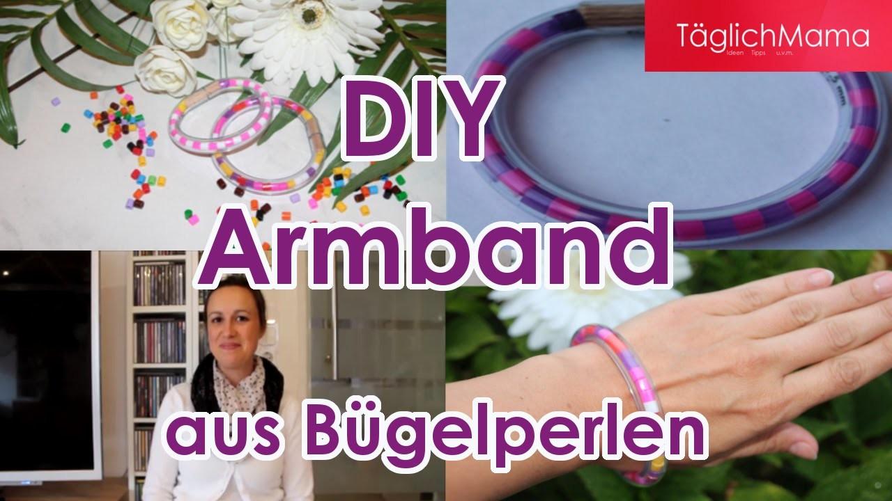 DIY Armbänder aus Bügelperlen. Basteln mit Kids. Kindergeburtstag. TäglichMama. Deutsch