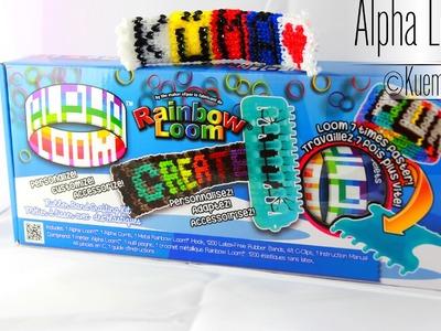 Der neue Rainbow Loom Alpha Loom