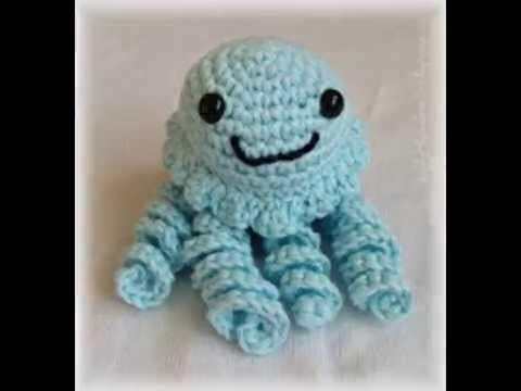 Qualle häkeln - crochet jellyfish