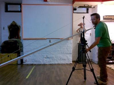DIY 100€ KAMERAKRAN BAUANLEITUNG camera crane do it yourself GERMAN