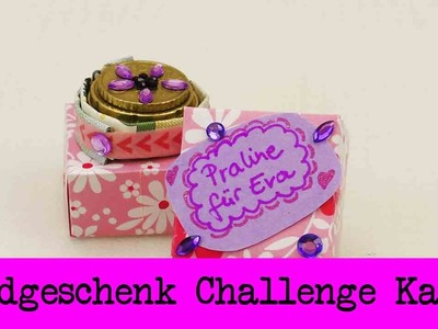 DIY Inspiration Challenge #29 Geldgeschenk | Kathis Challenge | Tutorial - Do it yourself