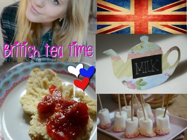 Having Teatime.DIY Deko und Backen.Easy and affordable