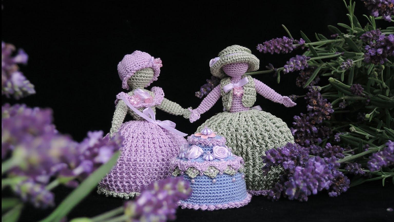 Lavendel(hoch)zeit HÄKELN, CROCHET
