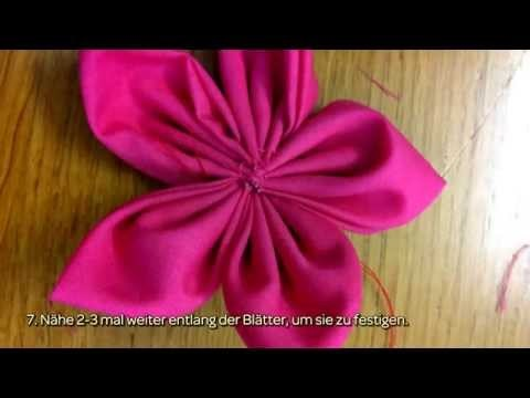 Bunte Stoffblumen Herstellen - DIY Crafts - Guidecentral