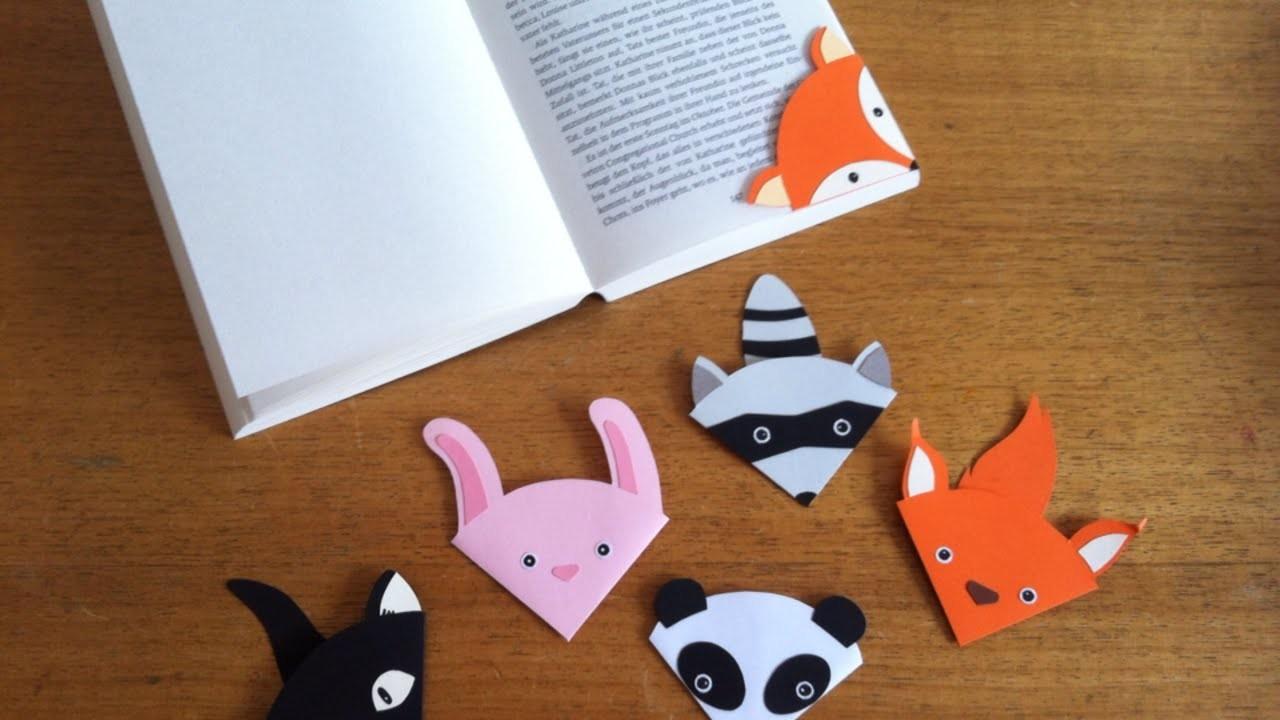Ein Süßes Tier-Lesezeichen Herstellen - DIY Crafts - Guidecentral