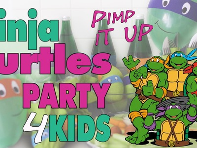 How to turn everything into Ninja Turtles | DIY | mamiblock - Der Mami Blog
