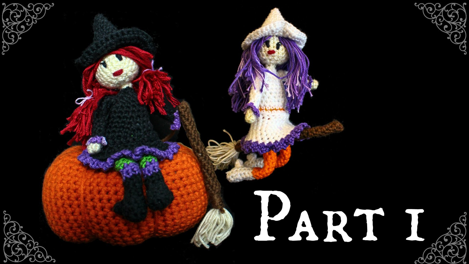 Kleine Hexe Häkel-Anleitung DIY *Halloween* Part 1