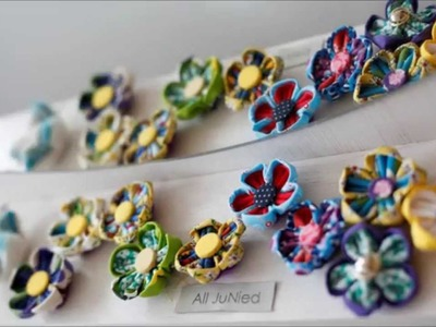 All JuNied - DIY Kanzashi