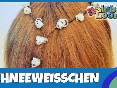 HairLoom Schneeweisschen - deutsche Anleitung von Rainbow Loom