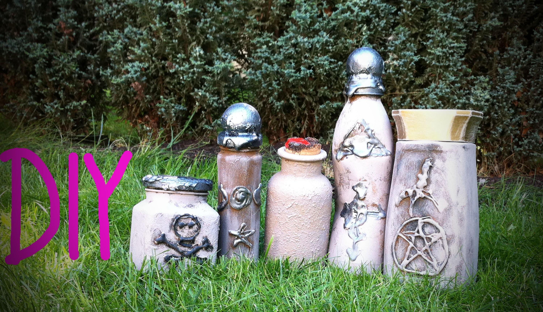 DIY Alchemistische Behälter - DIY Halloween 2015 #7