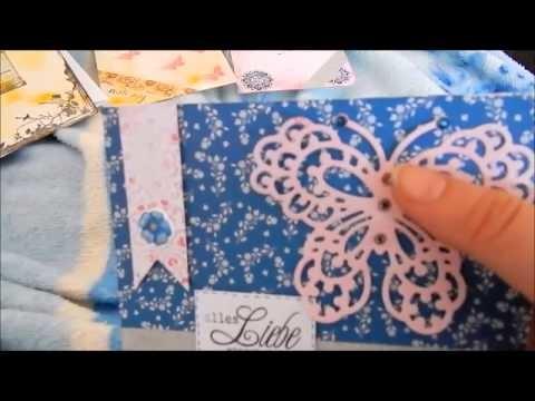 ♡ Craft Update ♥06♥ meine selbst  gemachten Postkarten ♡