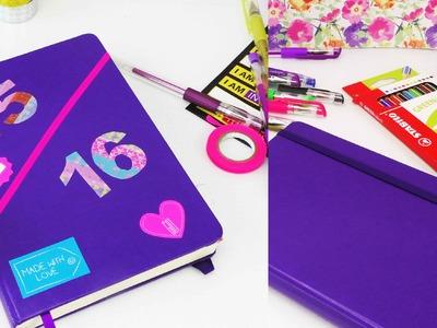 DIY Kalender | Schülerkalender selber machen | Back to School | Washitape