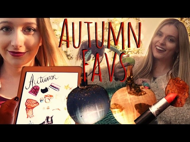 Autumn Favs - Makeup, Kürbis DIY, Wallpapers und mehr!