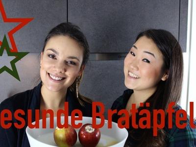 DIY winterlich-leichter Bratapfel I Janina Uhse