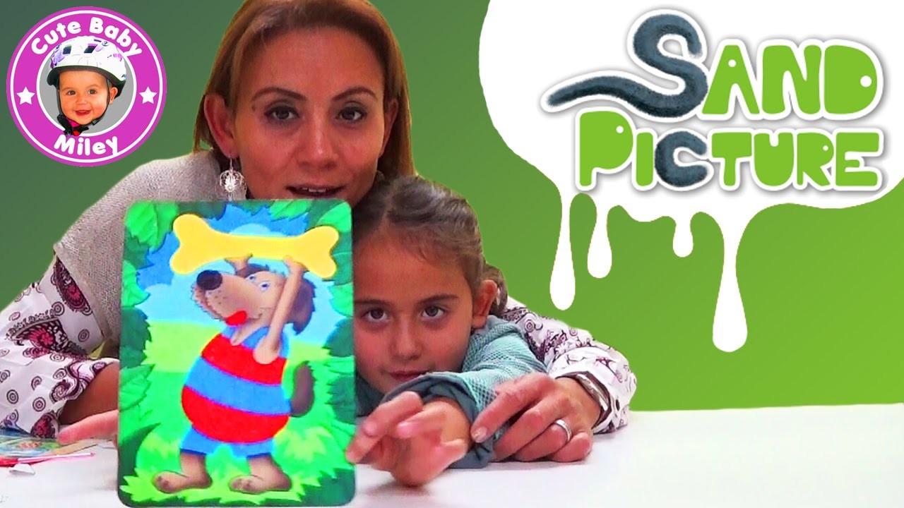 Sand Picture Revell - Bilder malen mit Sand - DIY Sandmalerei - Kanal für Kinder
