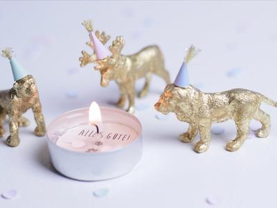 Weihnachten | Last Minute Geschenke | Silvester Deko | DIY Kerze mit Geheimbotschaft | chestnut!
