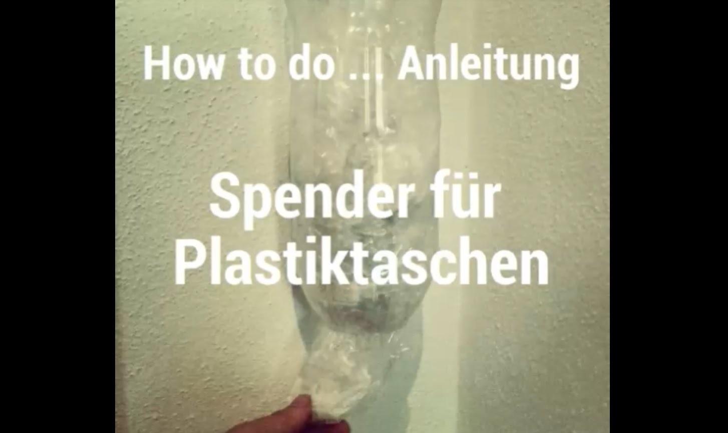 DIY Tipp: Einfacher Spender für Plastiktaschen - How to do Anleitung. Tutorial