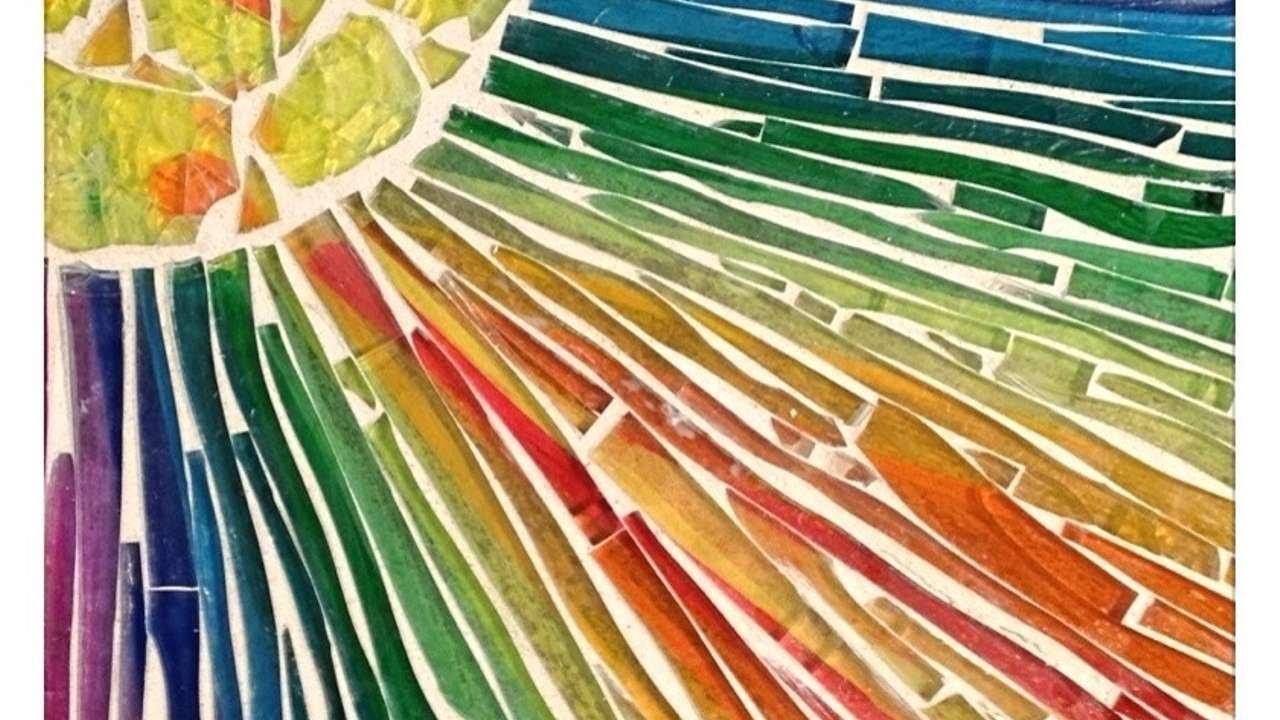 Ein Einzigartiges Glasmosaik Kreieren - DIY Crafts - Guidecentral
