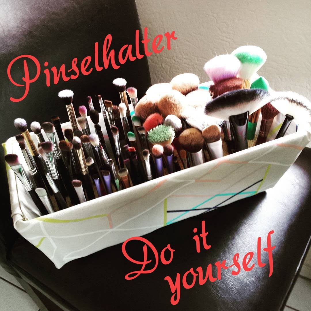 Pinselhalter.Brush Holder DIY for many brushes