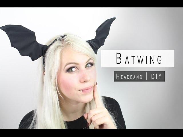 HALLOWEEN DIY - BATWING HEADBAND [GLAMOUR & DARKNESS]