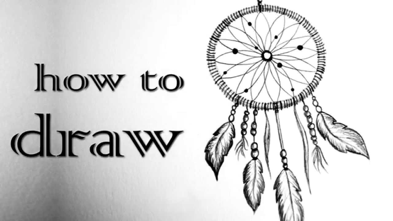 DIY Tutorial ♥ DREAMCATCHER | Traumfänger ♥ Black & White  Mandala Zentangle