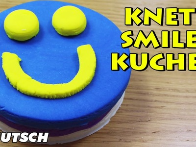 Knete Smiley Kuchen | Smiley Face Play Dough Deutsch How To