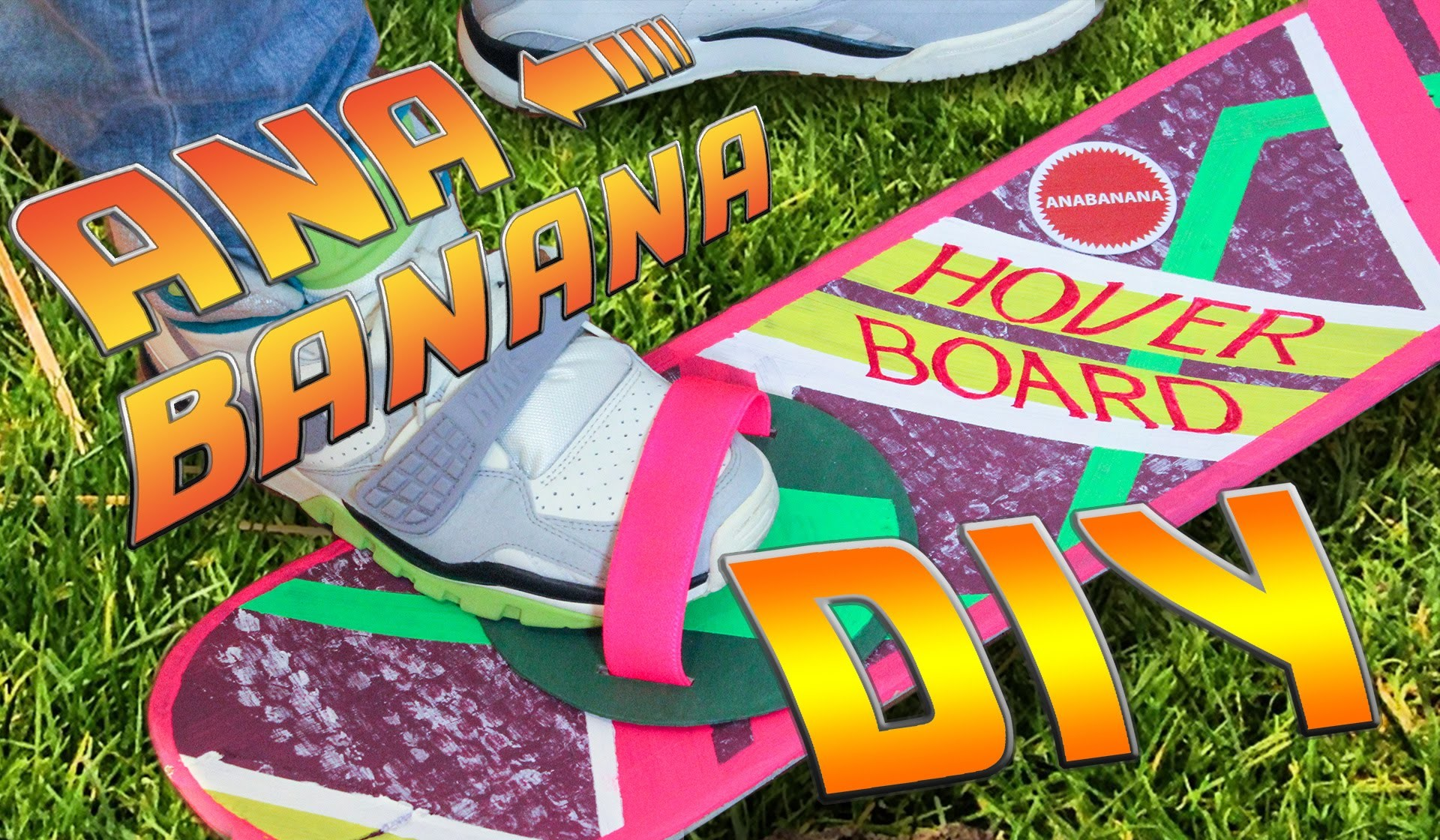 Halloween Last Minute DIY Costume   Hoverboard Tutorial   Back to the Future
