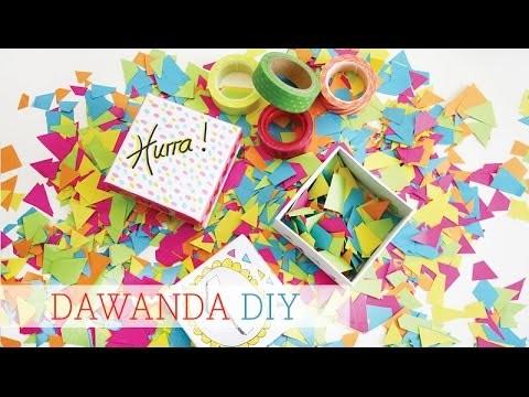 DaWanda DIY Konfetti Box zum Schulanfang von Luloveshandmade x Jess on Tour