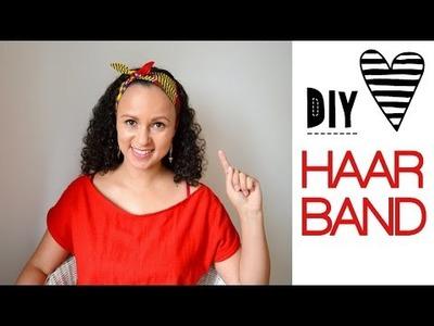 DIY Haarband nähen mit kostenlosem Schnittmuster