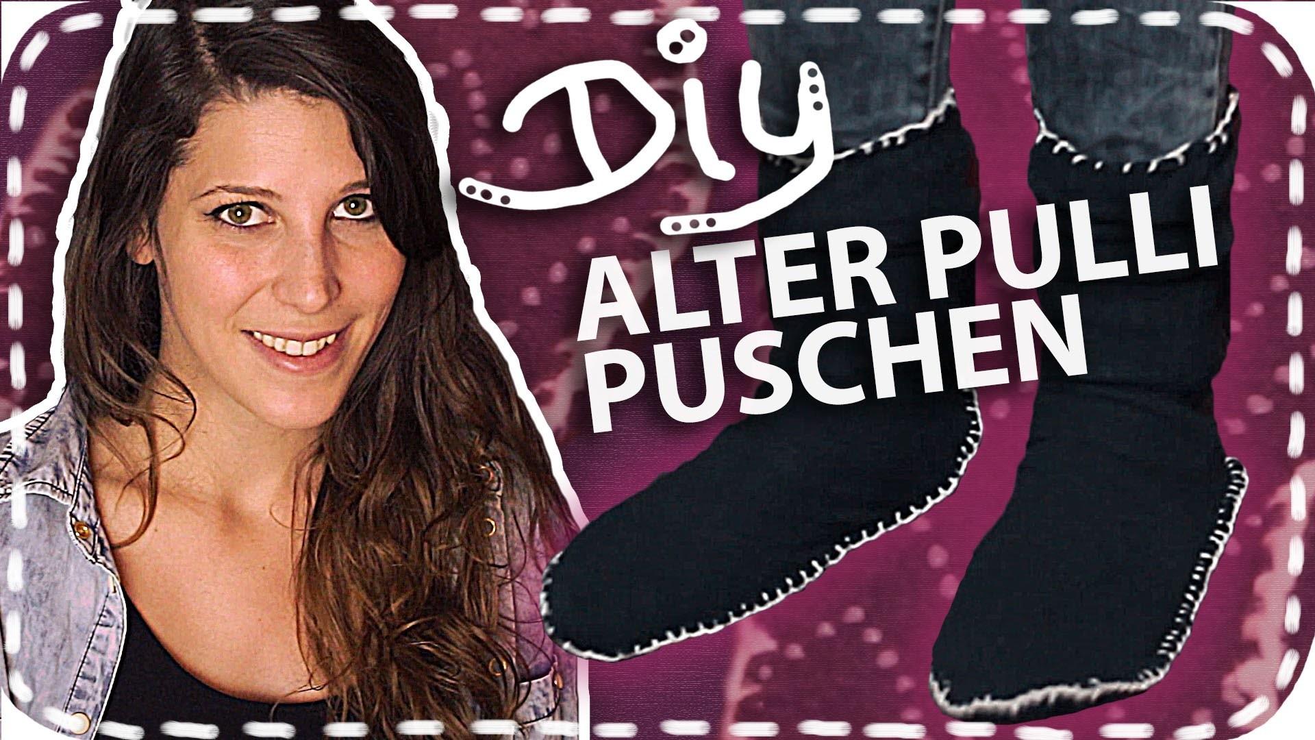 DIY-Puschen aus einem Old Sweater | Upcycling | #DoItLisa